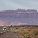 Rock Formations near Kayenta - US 160 & US 163